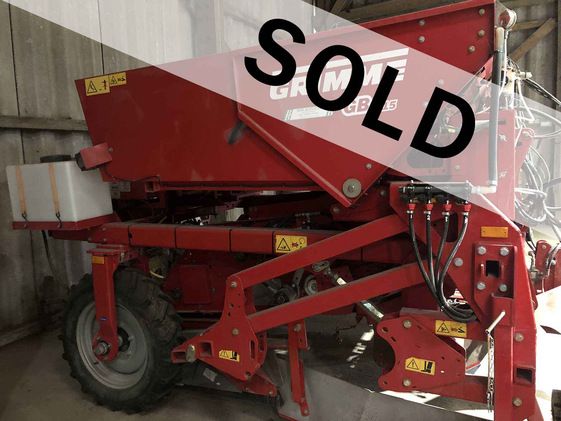 Grimme GB215 2013