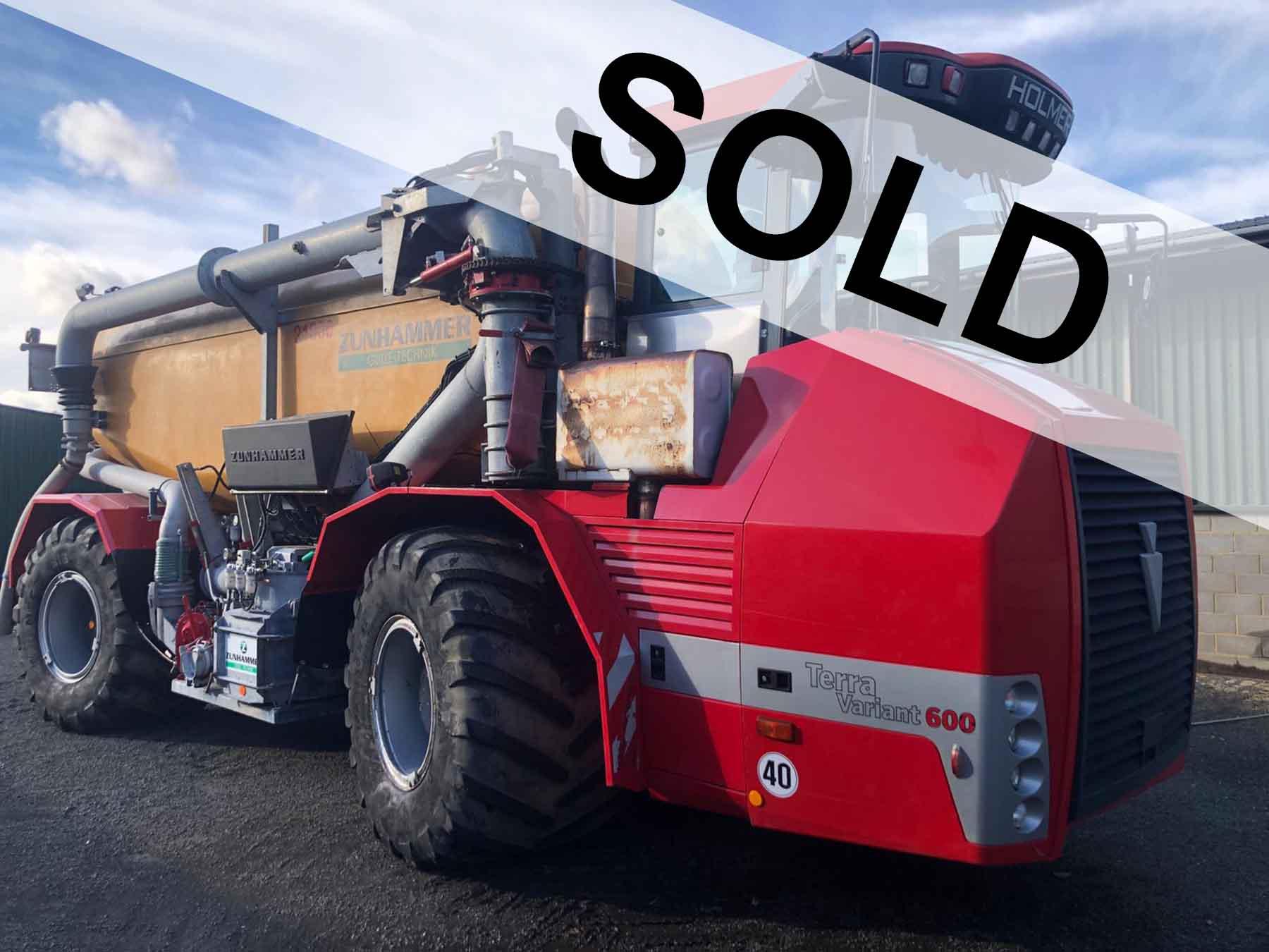 Sold Holmer TerraVariant 600 Eco
